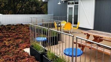 DIADEM ® railing system solves design dilemma